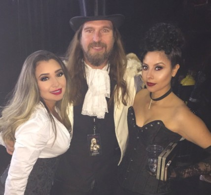 Photo with Father Sebastiaan, king of the vampire ball