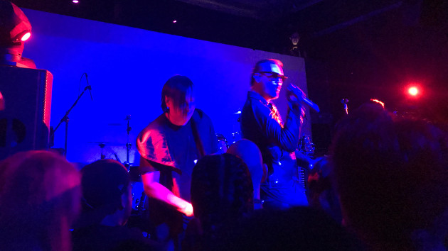 Julien-K live at Union nightclub in Los Angeles during their 2017 North American tour