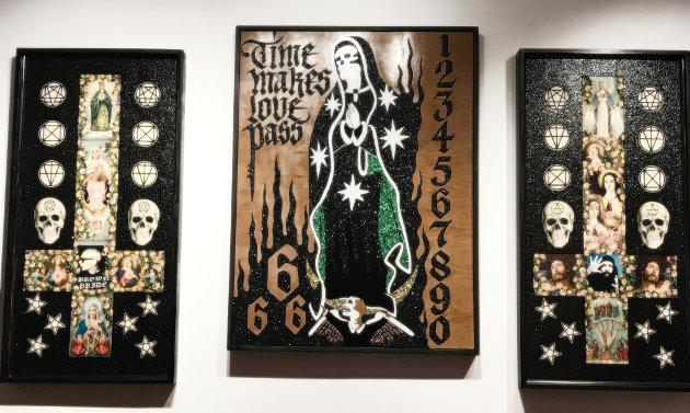 Original artworks by Leafar Seyer