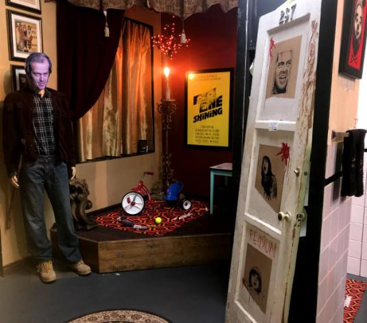 Danny's playroom and the door to room number 237