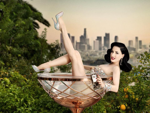 Dita Von Teese and The Copper Coupe