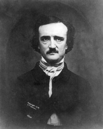 A portrait of Edgar Allan Poe