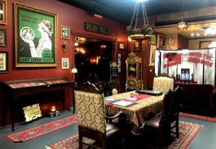 The Shining exhibit main room
