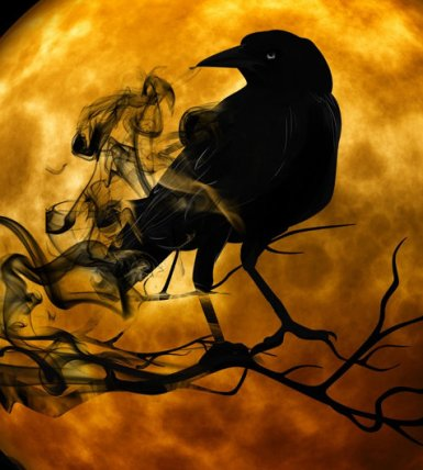 Quoth the raven, `Nevermore.'