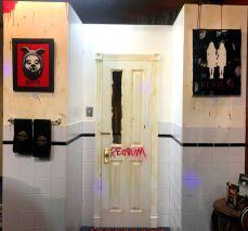 The redrum bathroom