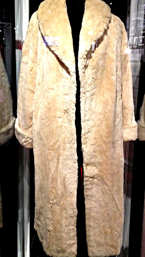 Marilyn Monroe's beaver fur coat