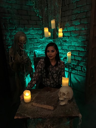 Greetings from the crypt