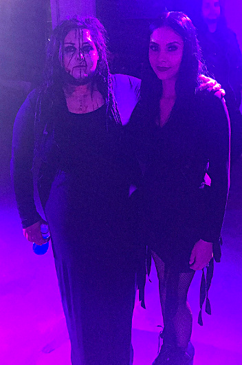 A photo with the founder and designer of MM Fabrications Missy Munster