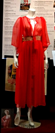 A gown worn by Marilyn Monroe on various special occasions