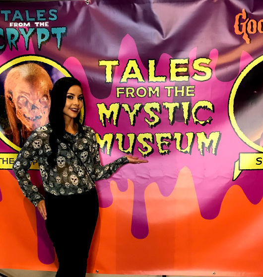 Tales from the Cryptand Goosebumps Backdrop