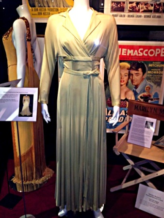 The green dress Marilyn Monroe wore in the film There's No Business Like Show Business