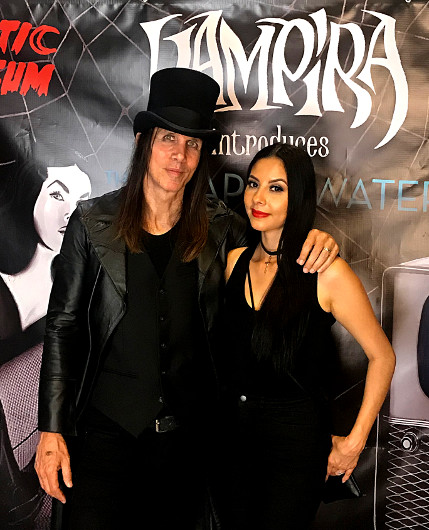 "Jonny Coffin helped curate the Vampira and ""The Shape of Water"" art exhibit"