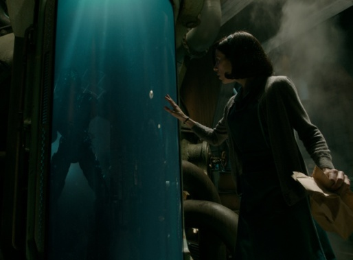 Doug Jones and Sally Hawkins in the film THE SHAPE OF WATER. Photo Courtesy of Fox Searchlight Pictures. © 2017 Twentieth Century Fox Film Corporation All Rights Reserved