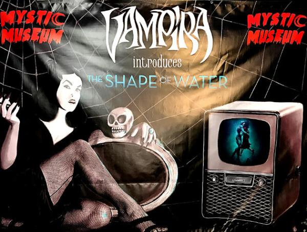 Vampira Introduces The Shape of Water