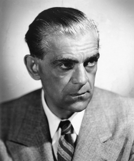 Actor Boris Karloff starred as the Creature in the 1931 film