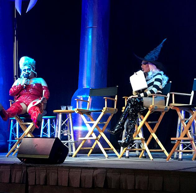 Monster Stage hosts Pinche and Vander Von Odd at Scare LA
