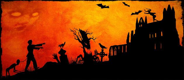 Frankenstein- and Halloween-Inspired Art