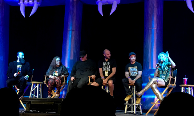 """Haunters: The Art of the Scare"" panel"