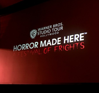 "Warner Bros. Studio ""Horror Made Here"" presentation at Midsummer Scream"