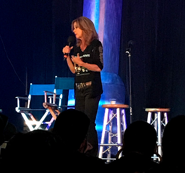 """Linda Blair, star of """"The Exorcist,"""" at Scare LA"""