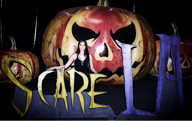 At Scare LA in Los Angeles, California