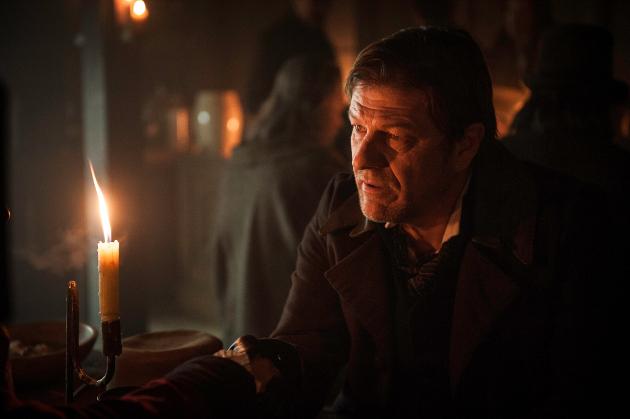 Actor Sean Bean as inspector John Marlott in