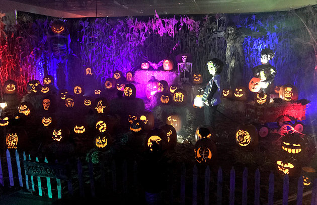 A display created by Wicked Pumpkin Hallow