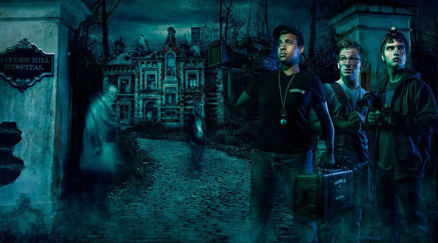 Promo shot for Knott's Scary Farm's maze Paranormal Inc. (© Knott's Berry Farm)