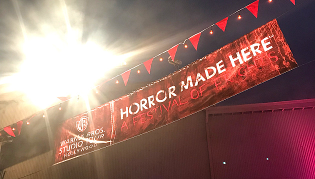 Warner Bros. Studio: Horror Made Here Entrance