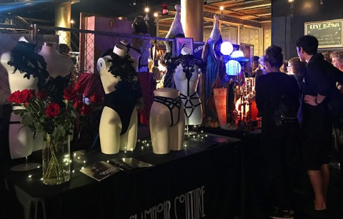 Glamnoir Couture, one of the main floor vendors