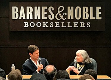 "Anne Rice and her son Christopher Rice for the book signing of ""Ramses the Damned: The Passion of Cleopatra"""