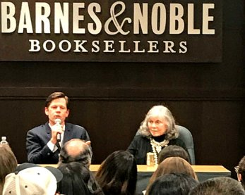 """Anne Rice and her son Christopher Rice for the book signing of """"Ramses the Damned: The Passion of Cleopatra"""""""