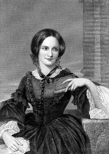 A rendering of Charlotte Brontë by Duyckinick in 1873, based on a drawing by George Richmond