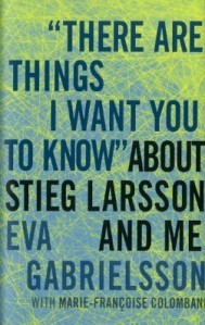 The book cover of Eva Gabrielsson's memoir