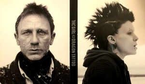 """The Girl with the Dragon Tattoo"" starring Rooney Mara and Daniel Craig"