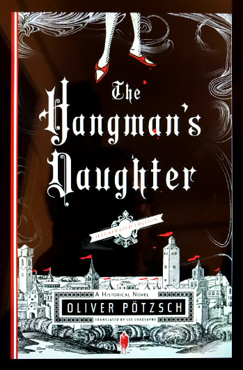 The Hangman's Daughter, the first book in the series by Oliver Pötzsch