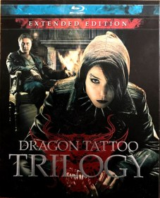 Dragon Tattoo Trilogy Film starring Noomi Rapace as Lisbeth Salander and Michael Nyqvist as Mikael Blomkvist