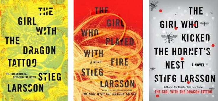 Millenium Trilogy Book covers