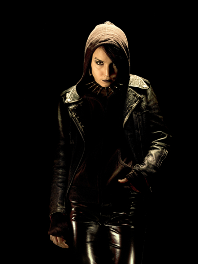 Noomi Rapace as Lisbeth Salander (Photo courtesy of MovieStillsDB)