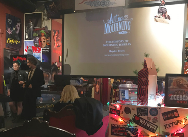 Art of Mourning with Hayden Peters