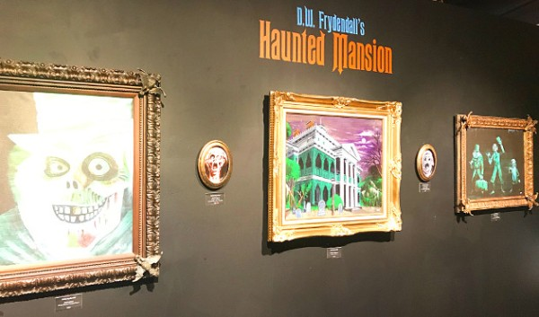 "D.W. Frydendall's ""Haunted Mansion"" art exhibition at The Dark Art Emporium"