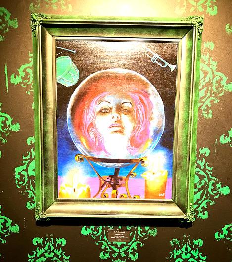 """""""Madame Leota"""" painting"""