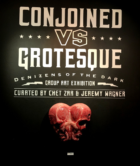 Conjoined vs. Grotesque: Denizens of the Dark art exhibit at Copro Gallery