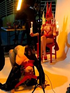 Live body painting by Nix Body Art & FX