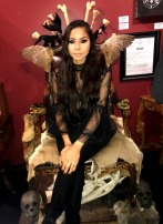 """American Horror Story: Coven"" Voodoo Chair Photo Op"