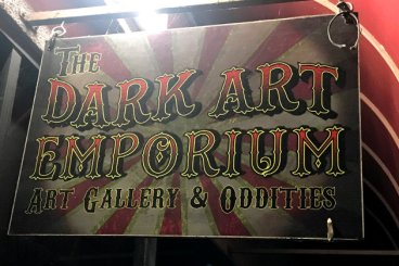 The Dark Art Emporium in Long Beach, California
