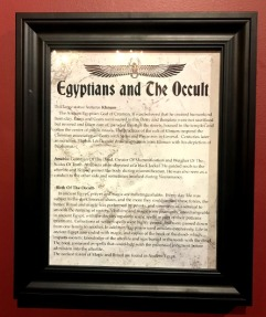 Egyptians and the Occult