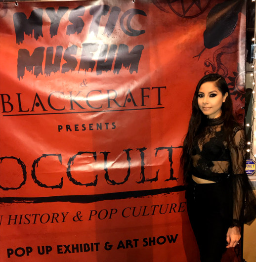 "The Mystic Museum and BlackCraft Cult present ""Occult in History and Pop Culture"" art exhibit"