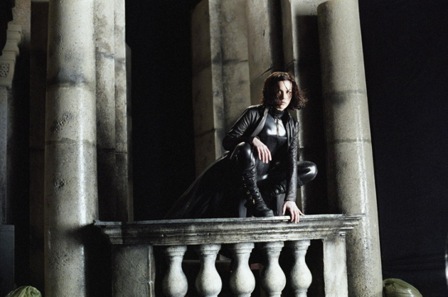 Kate Beckinsale as vampire Selene in