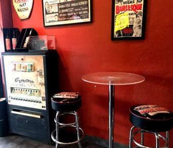 Wine bar seating